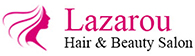 Lazarou Hair and Beauty Logo